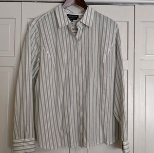 Striped Jones New York Blouse